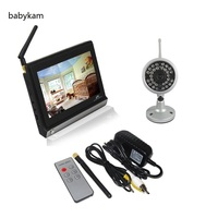 Hot New 7 0inch Baby Monitor 2 4Ghz Bateria Eletronica Baby Monitors 4channels IR Night Vision