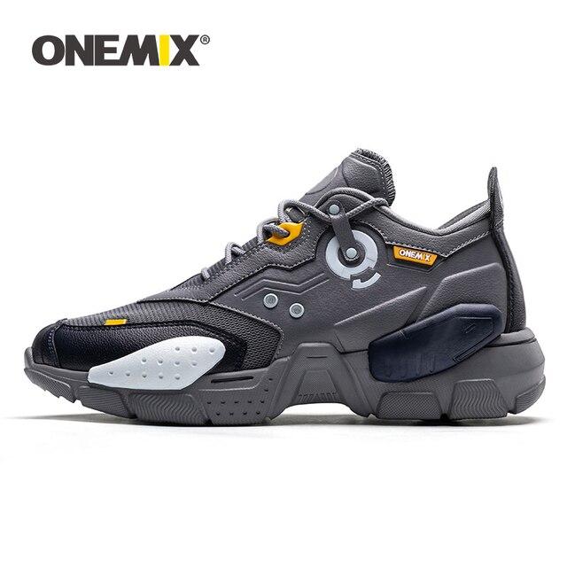 ONEMIX Zapatillas de correr para hombre, calzado deportivo Unisex de moda con amortiguación cómoda, para correr, 2020