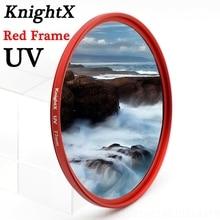 цена на KnightX 49 52MM 58MM 67MM 77 MC UV MCUV Filter For Pentax Sony Nikon d5300 600d d3200 d5100 d3300 550D 600D lentes d5500 d7200