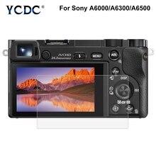 HD закаленное стекло ЖК-экран Защитная пленка для sony ILCE-6000/A6000/A6300/A6500 SLR оптическая 9H защита для экрана камеры