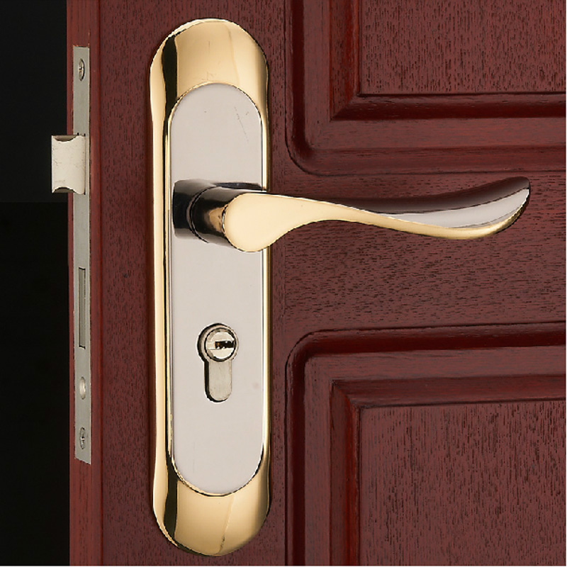 Buy stainless steel double bolt locks - Door handles with locks for bedrooms ...