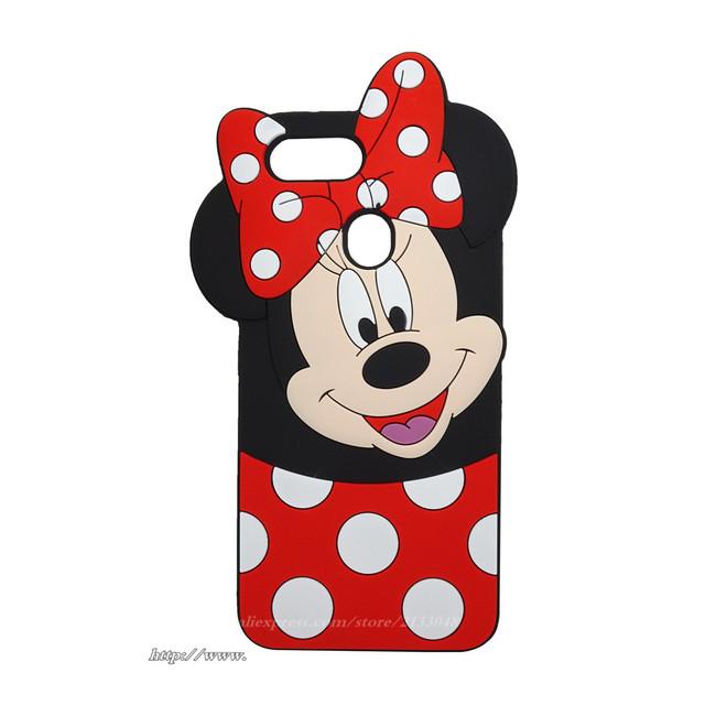 best sneakers f0b0b 66e74 US $3.54 15% OFF|Cover For Oppo A3s Case Oppo A5 Case silicone 3D Cartoon  For Oppo A3s CPH1803 CPH1805 case For Oppo A5 2018 Case Minnie -in Fitted  ...
