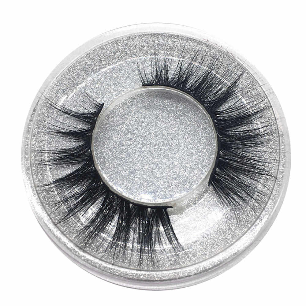 1Pair Luxury 3D False Lashes Fluffy Strip Eyelashes Long Natural Party mink lashes 3d mink extension eyelashes #N