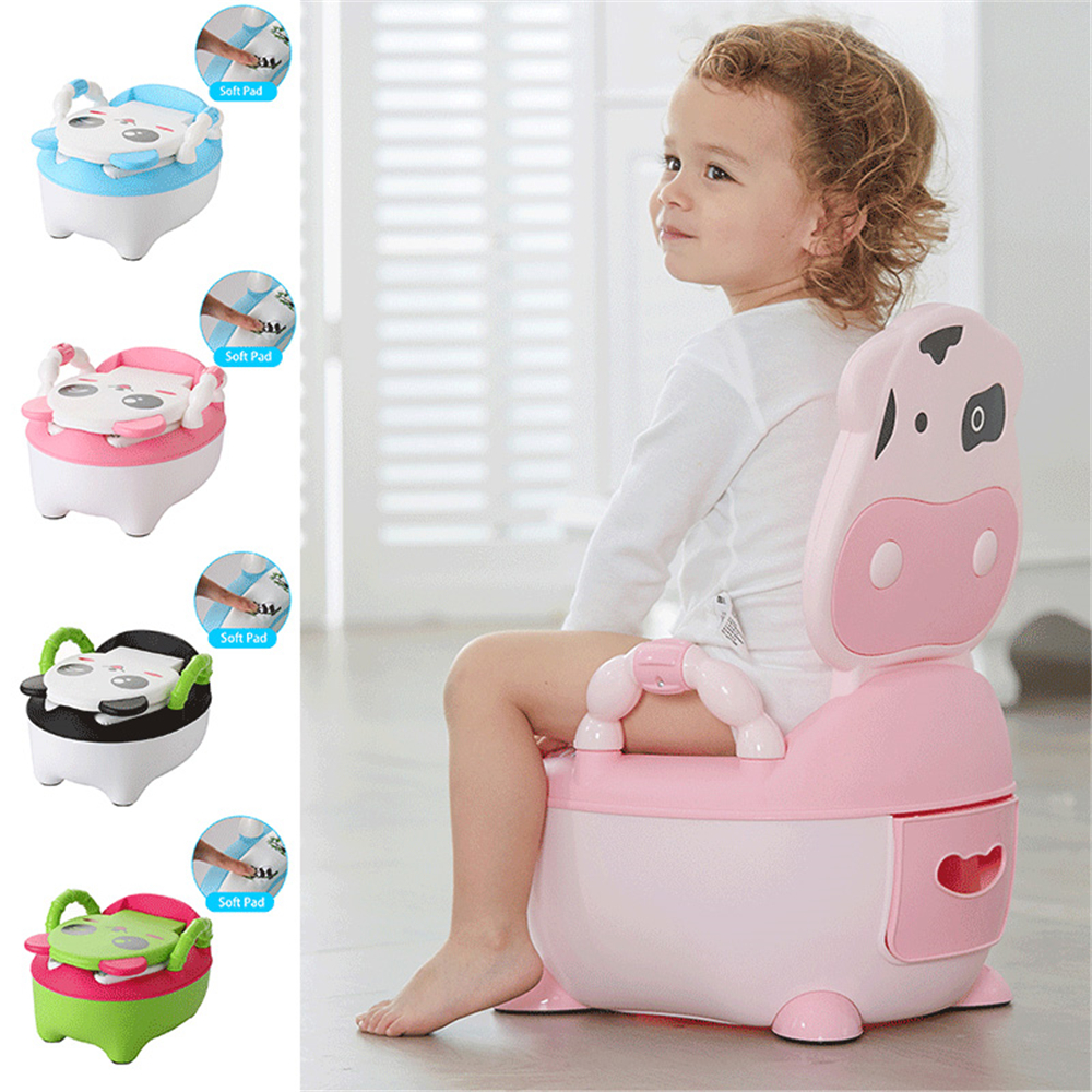 Baby Toilet Cars Portable Baby Potty Cartoon Toilet Children's Potty WC Kids Potty Chair Training Girls Boy Child Toilet Seat image