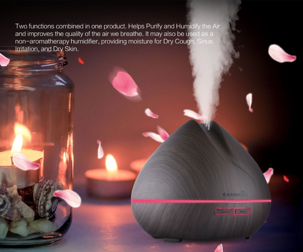 EASEHOLD 400 ml Aroma Essentiële Olie Diffuser Ultrasone - Huishoudapparaten - Foto 4