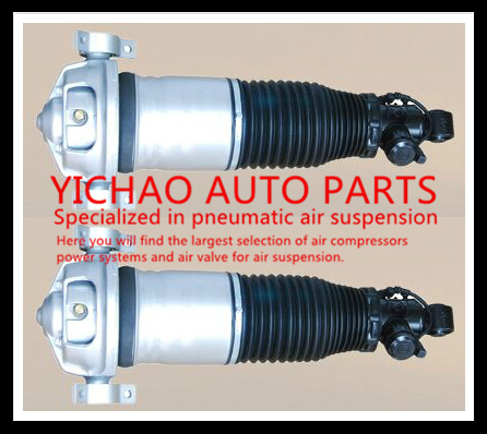 PAIR Air Shock Absorber Fit For Porsche Cayenne Car Rear REBUILD Suspension Air Spring Bag Strut
