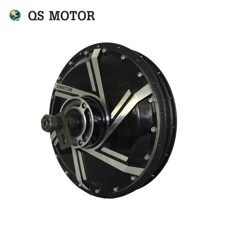 Qsmotor 8000 W 273 50 H V2 dans le moteur de moyeu de roue 200mm décrochage pour 17 pouces 19 pouces scooter électrique
