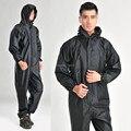 À prova d' água roupas de trabalho, impermeáveis Siameses, macacão moda motocicleta Elétrica capa de chuva capa de chuva roupas de Proteção terno