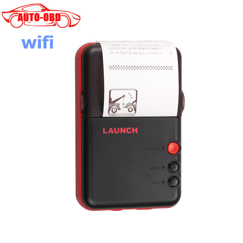 OriginalLaunch Printer Original X-431 V WIFI Printer For Launch X431 V+  PRO  PRO3 ,Mini Printer for X431 V/V+/Pro/Pro3S Free DH launch x431 idiag connector full set package x 431 easydiag adapter launch x431 yellow box without b enz 38 pin adapter in stock