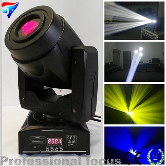 Free Shipping 2pcs/lot Mini Size 60W Led Moving Head Spot Light for Stage Disco DJ Nightclub
