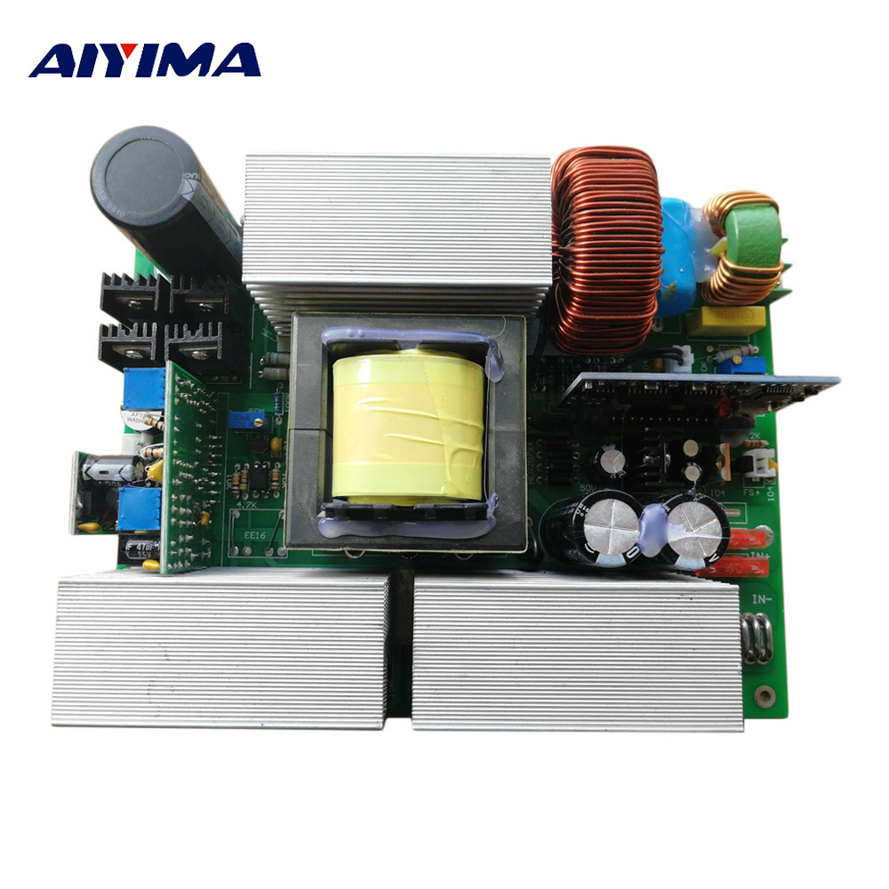 Pure Sine Wave 12v To 220v Inverter Circuit Board Solar Converter Aiyima 1pc 24v 36v 48v Inversor
