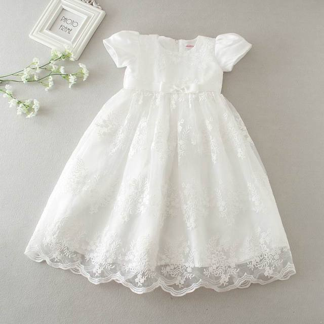 ff7a88afcc Do sprzedaży detalicznej 2017 narodziny dziecka dziewczyny księżniczka Maxi  sukienki chrzest chrzciny suknia wieczorowa Infantis dla