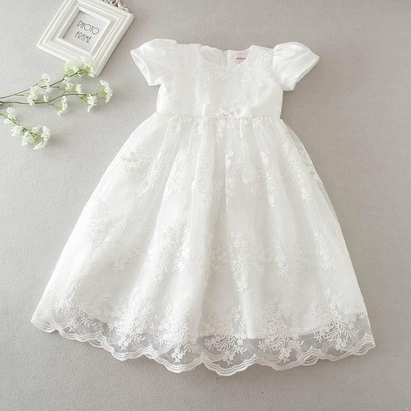 Us 2146 26 Offeinzelhandel Neue Baby Mädchen Prinzessin Maxi Kleider Taufe Kleid Kleider Infantis Für Neugeborene Geburtstag Party Taufe E9133 In