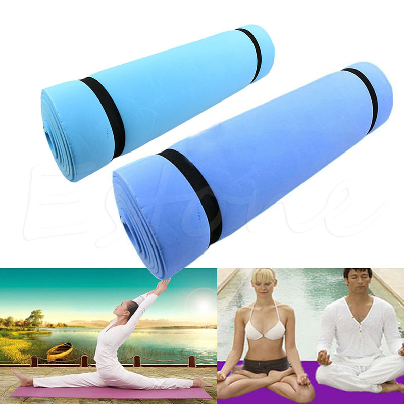 Thick Foam Yoga Exercise Mat Workout Men Women Pilates