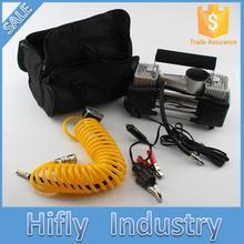 Super bomba de aire del coche bomba de doble cilindro compresor de aire del coche set de portátil caja de herramientas del vehículo automóvil