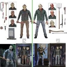 Neca 3D Friday The 13th Deel 3 Het Laatste Hoofdstuk Jason Voorhees Pvc Action Figure Model Pop 18Cm