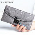 Women Wallets Luxury Brand Clutch Card Bag Designer 2017 Fashion Multifunction long Wallet Ladys Red Purses Portefeuille femme