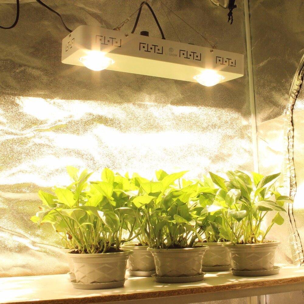 CREE CXB3590 100 W 200 W COB LED Élèvent La Lumière Plein Spectre 26000LM = HPS 400 W Lampe De Croissance pour tente intérieure Hydroponique Croissance Des Plantes