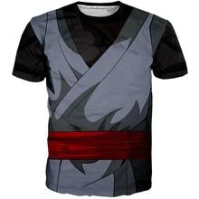 PLstar Cosmos Women/Men 3d Print Hip Hop Dragon Ball T-shirt BLACK GOKU OUTFIT T-SHIRT Cosplay Streetwear Summer Tops XS-7XL