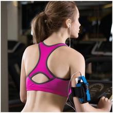 New Women Sport Bra Shirts Tops Comfortable Bra Push up For Yoga Fitness Sports Sleep Fitness