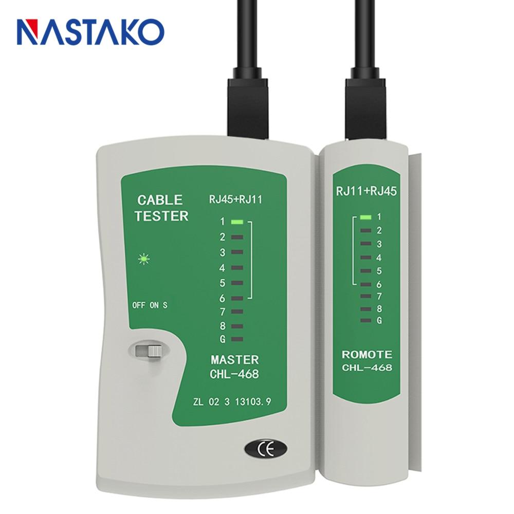 Rj45 testador de cabo de telefone rede rj11 rj12 rj45 cat5 cat5e cat6 cat7 ethernet lan cabo testador ferramentas ferramenta rede