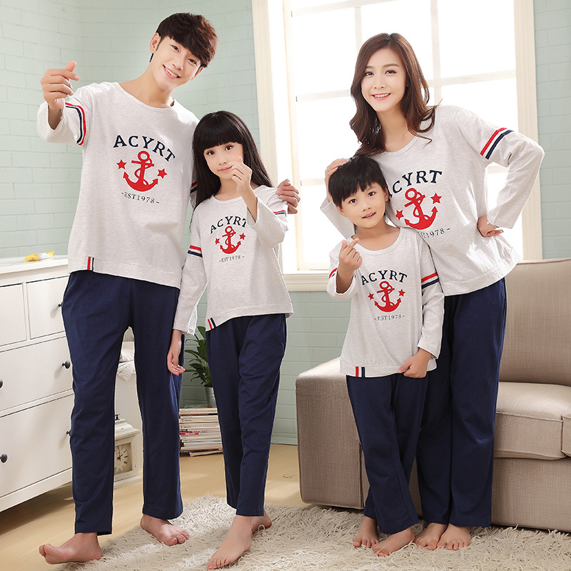 family look clothing set pyjama noel famille family christmas pajamas mother and daughter. Black Bedroom Furniture Sets. Home Design Ideas