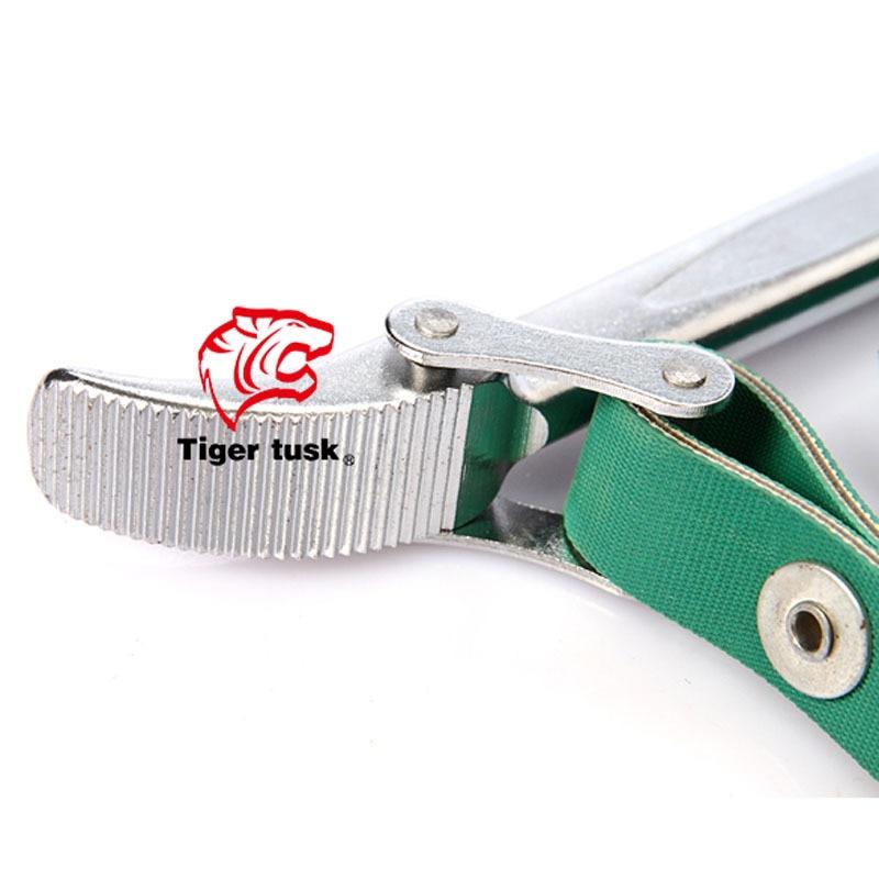 US $70 2 |Tiger tusk / eye teeth TT P160 9 inch strap wrench chrome  vanadium steel belt clamp on Aliexpress com | Alibaba Group