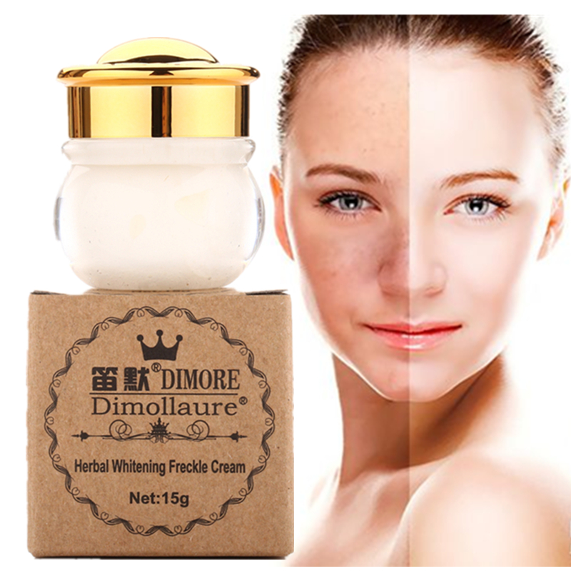 Dimollaure Powerful Whitening Speckle Cream 15g Fast Removal Freckle Melasma Pigment Melanin Acne Scars Dark Spot Dimore Cream