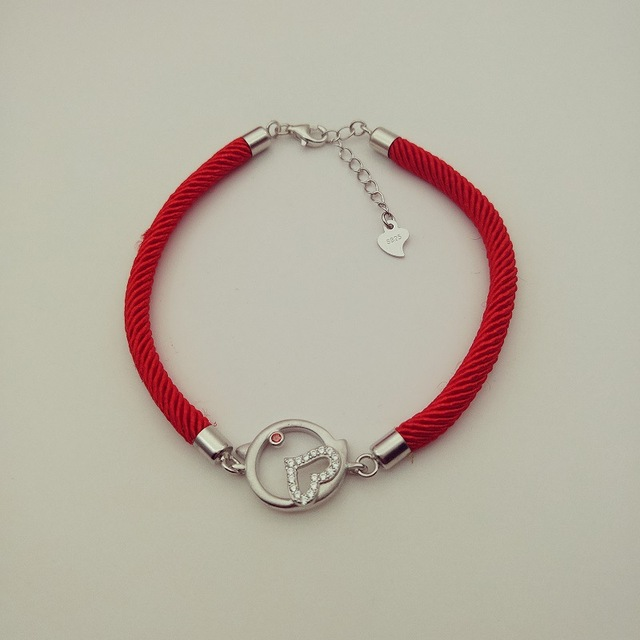 Chinese New Year Gift Purchase Valentine 's Day Gift Zodiac Jewelry 925 Silver Bracelet Love Bracelet Wholesale
