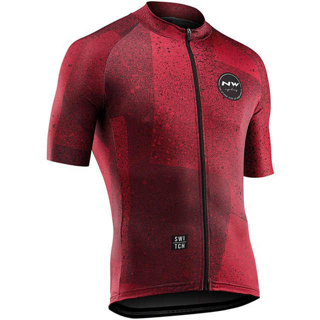 2019 NW Northwave גברים של רכיבה על אופניים גופיות שרוול קצר אופני חולצות MTB אופניים Jeresy רכיבה על אופניים בגדים ללבוש Ropa מאיו Ciclismo