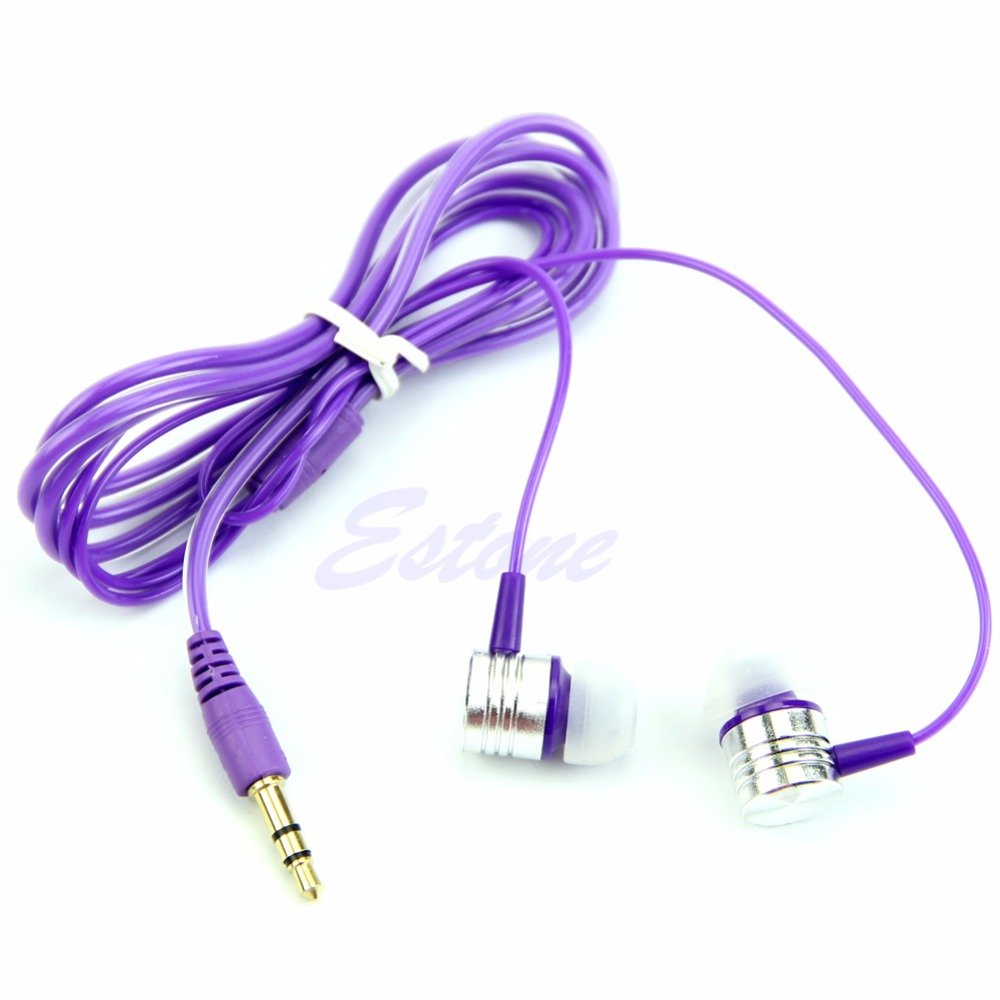 C73 3.5mm In-Ear Earbuds Earphone For iPhone For Samsung MP3 PCfree shipping