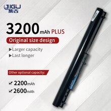 JIGU 740715 001 15 h000 15 S000 Laptop Battery Batteries For HP 240 G2 CQ14 CQ15 OA04 HSTNN PB5S HSTNN LB5S Black