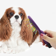 1PC Pet Dog Hair Comb Pets Grooming Double Sided Brushes Dogs Cats Puppy Rake Combs Brush