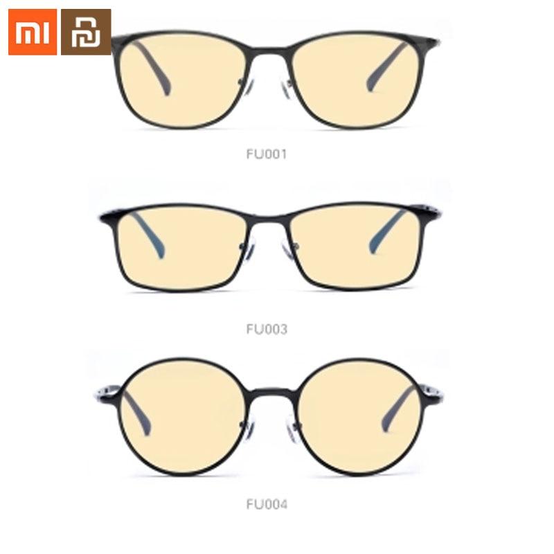 Óculos de Proteção Xiaomi Computador Jogo Redondo Quadrado Oval Óculos Millet ts 60% Anti-azul 100% Anti-uv Vidro –