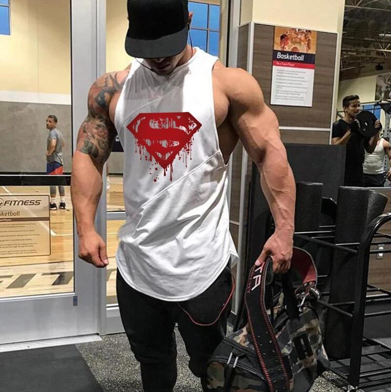Men's Quick Dry Tank Tops Running Vest Fitness Sleeveless Undershirts Male Gym Tank Top Men Loose Sport Vest Plus Size