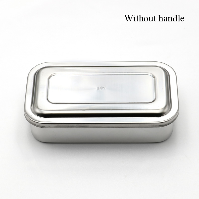 Image 2 - 304 thick medical stainless steel disinfection tray square plate 
