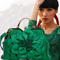 Jofeanay2017 new rose flower lady Shoulder Bag Handbag Lotus leaf bag MS bangalor party Ladies fashion handbag