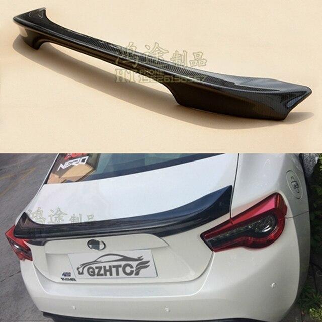 جناح خلفي للسيارة تويوتا GT86 سوبارو BRZ طراز 2012 2013 2014 2015 TRD جودة عالية أسود من ألياف الكربون
