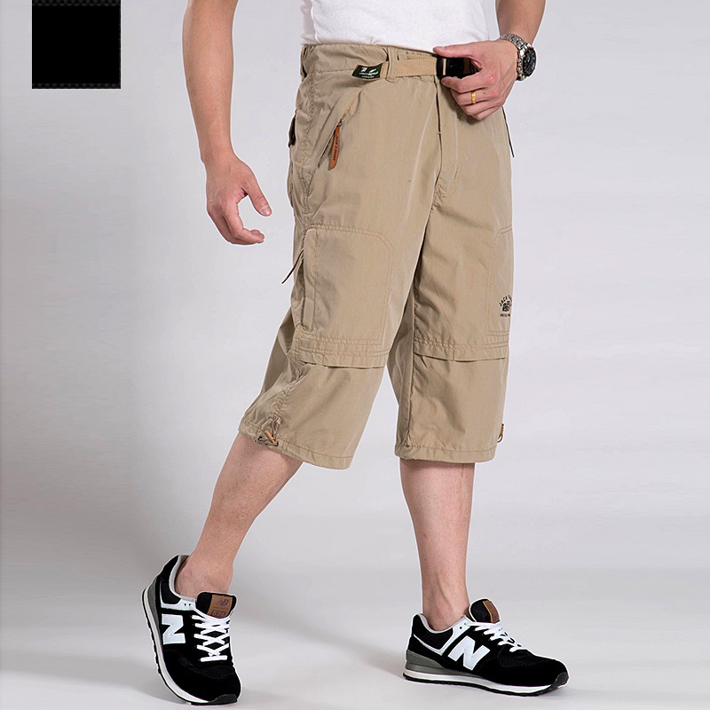 Popular Khaki Cargo Capris-Buy Cheap Khaki Cargo Capris lots from ...