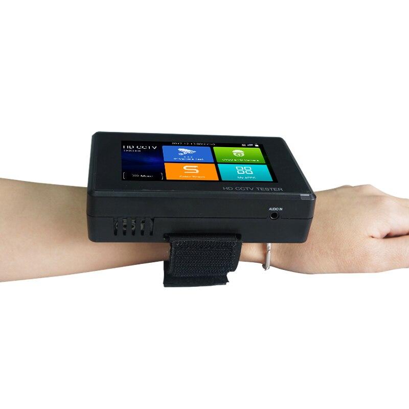 IPC1800 Plus 4 pulgadas coaxial HD 4,0 CCTV Tester Monitor 4 K H.265 IP CVI TVI AHD CVBS CÁMARA DE con WIFI hotspot Control PTZ - 4