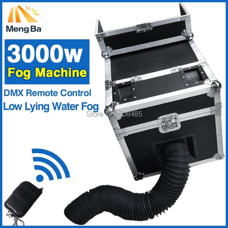3000 W Nebbia D'acqua Macchina Acqua Fumo Con DMX Telecomando Low Mentire Acqua Nebbia di Fumo Macchina di Effetto di Fase