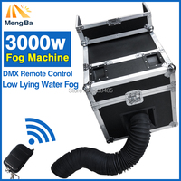 3000W Water Fog Machine Water Smoke With DMX Remote Control Low Lying Water Fog Smoke Machine Stage Effect