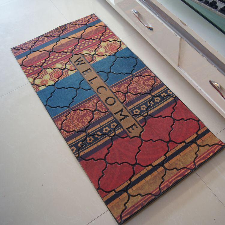 Paillasson Continental daim porte d'entrée hall d'entrée tapis antidérapants tapis de sol tapis