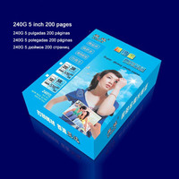 Platinum high light glossy photo paper A4 5 6 7 inch photographic paper Inkjet printing Office School Supplies glossy photo paper glossy photo paper a4 photo paper -
