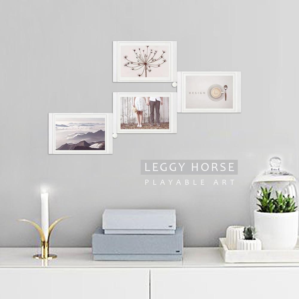 Stylish Leggy Horse Diy Collage Photo Frames Removable Acrylic Frame Hanging Wall Art Frame Home Decor Frame From Home On Leggy Horse Diy Collage Photo Frames Removable photos Acrylic Picture Frames