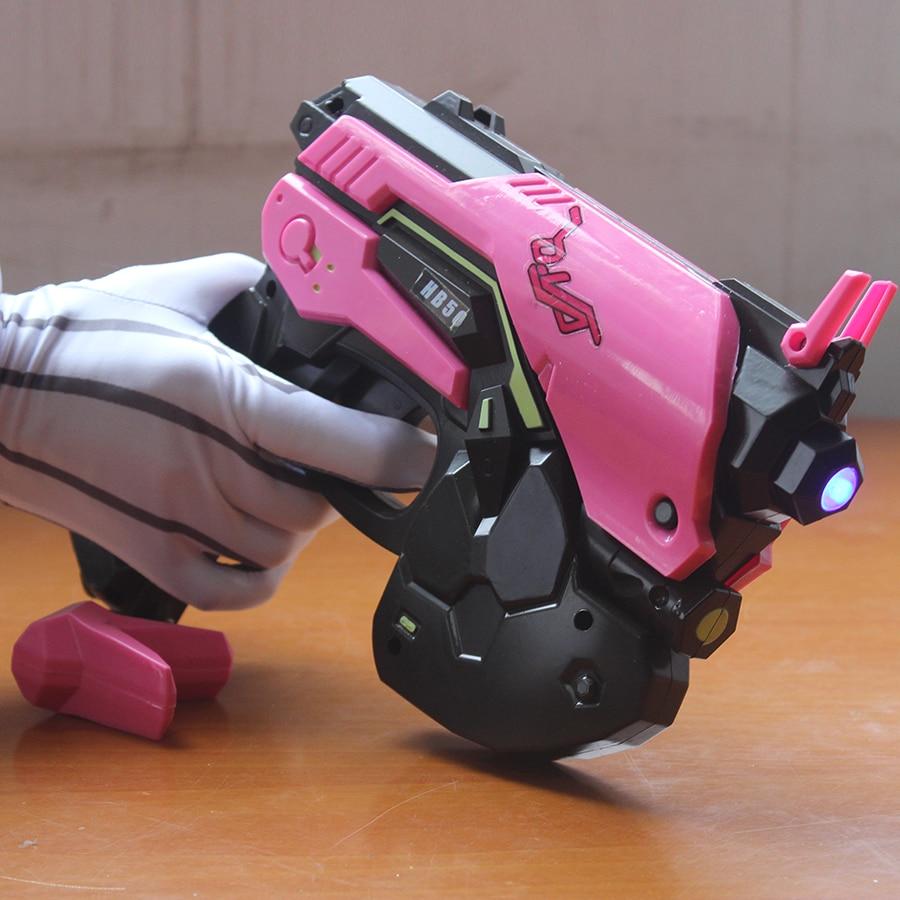 Veille sur DVA pistolet casque Hana chanson arme DVA pistolet D. VA casque Cosplay Costume accessoires pour femmes fille jeu Cos