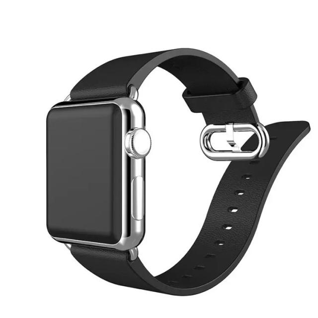 for Apple Watch iWatch Sport Men Women 100% Genuine Leather Wrist Watch  Band Strap Watchband Wristband Belt Strap 95821346ae