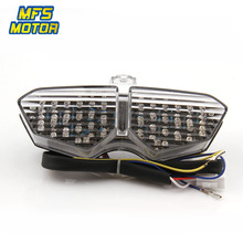 LED Tail Light For Yamaha YZF R6 R6S XT1200Z Integrated Motorcycle YZF-R6 Turn Signal Light Tail Stop Brake Warning Lamp цена и фото
