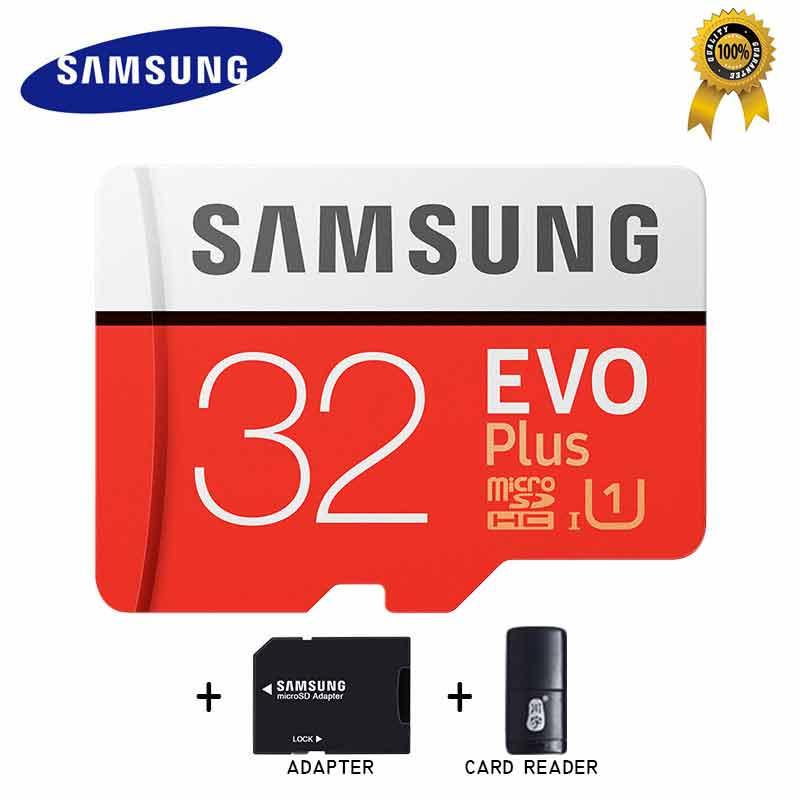 Carte SAMSUNG Micro SD Card da 32 gb Scheda di Memoria Micro sd Tarjeta Micro Sd 64 gb 128 gb 256 gb C10 4KHD TF per il Cellulare con SDHCSDXC