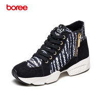 Superstar Brand Women S Fashion Sneakers Casual Shoes Breathable Canvas Platform Winter Warm Plush Walking Zapatillas